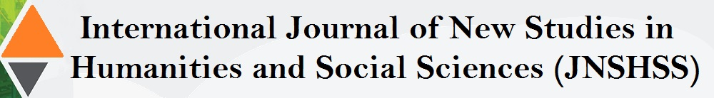 international journal of new studies in humanities and social sciences