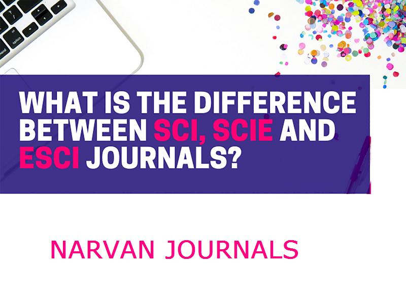 تفاوت بین مجلات SCI ، SCIE و ESCI چیست؟
